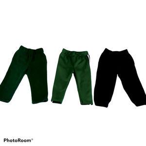Various Brands Boys 24M athletic sweatpants 3 lot